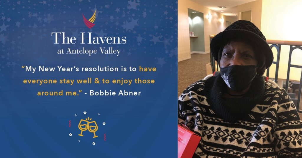 Pegasus Senior Living | Bobbie at The Havens at Antelope Valley
