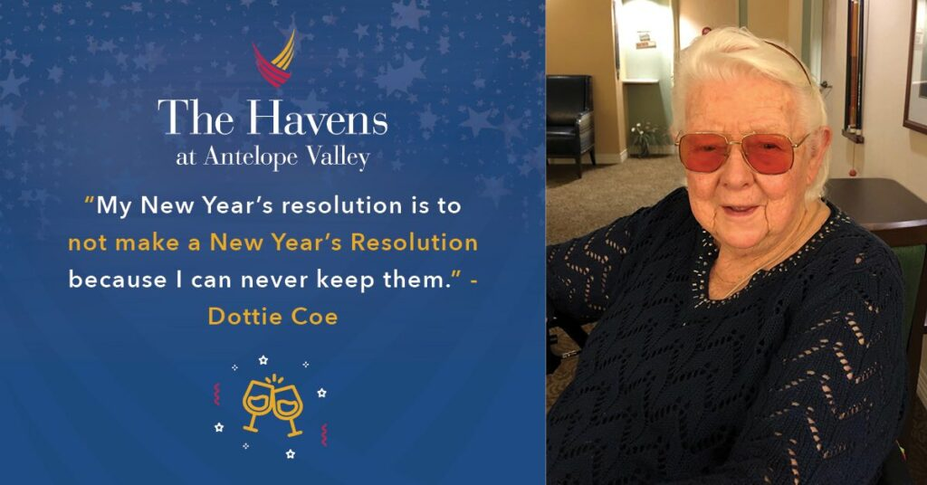 Pegasus Senior Living | Dottie at The Havens at Antelope Valley