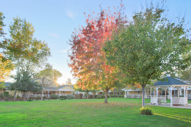 Pegasus Senior Living | Gazebo at Elk Grove Park