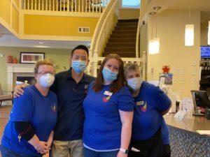 Pegasus Senior Living | Team on Caregivers Appreciation Day