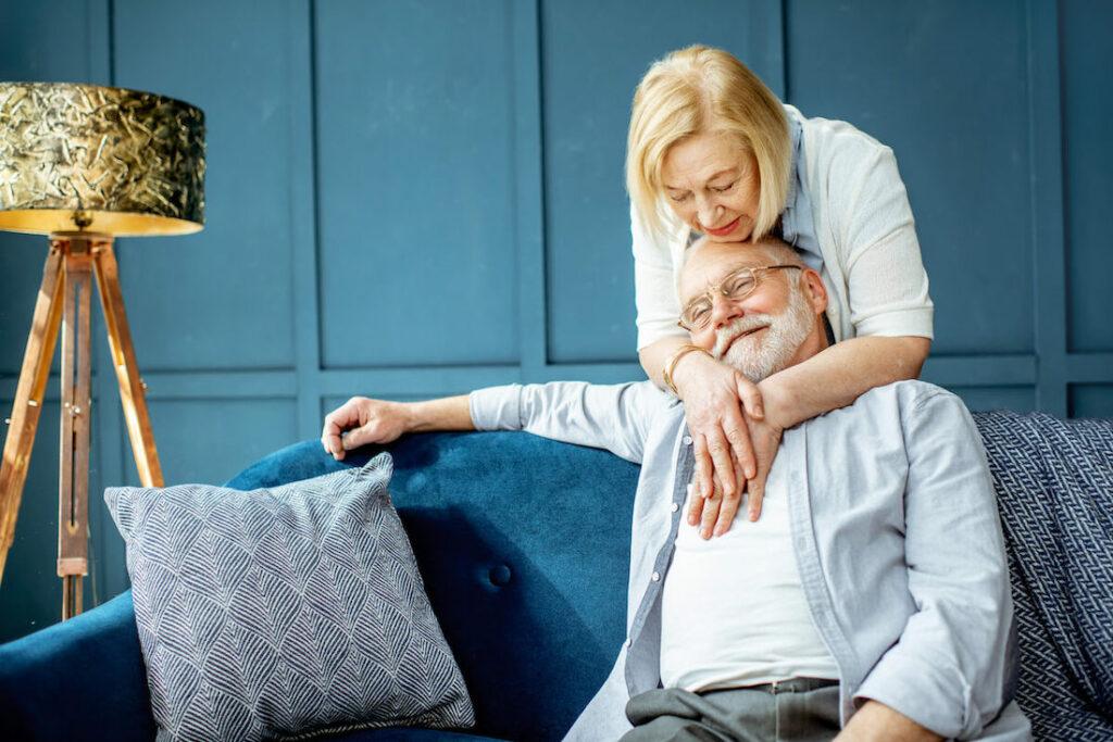 Pegasus Senior Living Greenhaven Place | Couple Hugging